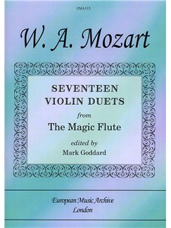 W.A. Mozart: Seventeen Violin Duets From The Magic Flute Books | Violin (Duet)