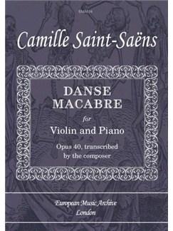 danse macabre piano sheet music pdf