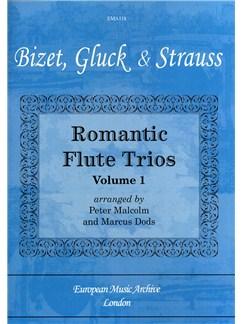 Romantic Flute Trios: Volume 1 Flute trio Books | Flute
