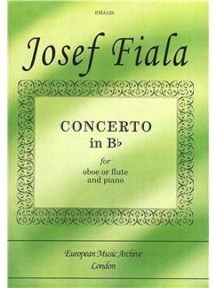 Josef Fiala: Concerto In B Flat Books | Oboe, Flute, Piano Accompaniment