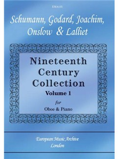 Nineteenth Century Collection Volume 1 Books | Oboe, Piano