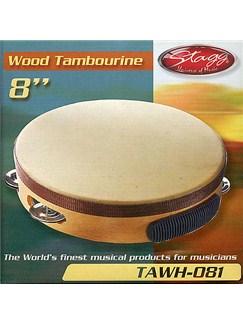 Stagg Music: Pre-Tuned Tambourine (8 inch) Instruments | Percussion