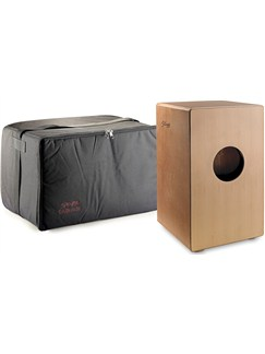 Stagg: Cajon With Black Bag Instruments | Percussion