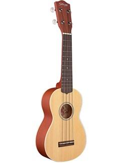 Stagg: Soprano Ukulele - Solid Spruce Top Instruments | Ukulele