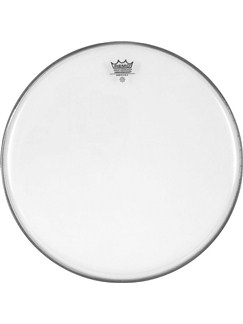 Remo: 22 Inch Ambassador Clear Bass Drum Head  | Drums