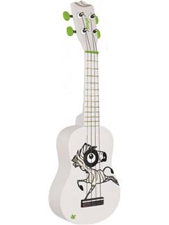 Stagg: Soprano Ukulele - Zebra Instruments | Ukulele