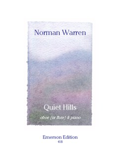 Norman Warren: Quiet Hills For Oboe Books | Oboe, Piano Accompaniment