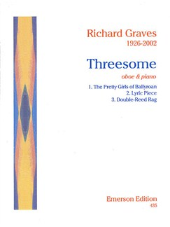 Richard Graves: Threesome Books | Oboe, Piano Accompaniment