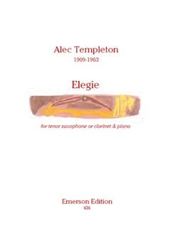 Alec Templeton: Elegie Books | Tenor Saxophone, Piano Accompaniment