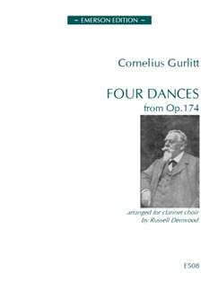 Cornelius Gurlitt: Four Dances from Op.174 Books | Clarinet (Septet)