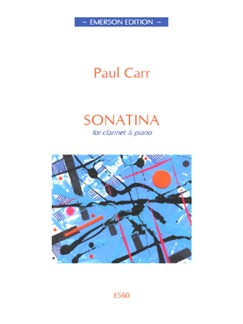 Paul Carr: Sonatina (Clarinet/Piano) Books | Clarinet, Piano Accompaniment