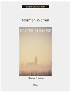Norman Warren: Easter Sunrise - Clarinet Books | Clarinet, Piano Accompaniment
