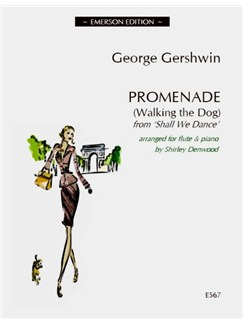 George Gershwin: Promenade (Walking The Dog) - Flute Books | Flute, Piano Accompaniment