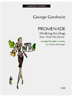 George Gershwin: Promenade (Walking The Dog) - Oboe Books | Oboe, Piano Accompaniment