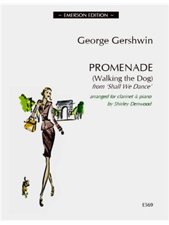 George Gershwin: Promenade (Walking The Dog) - Clarinet Books | Clarinet, Piano Accompaniment