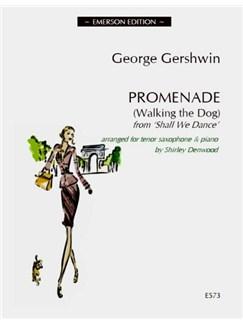 George Gershwin: Promenade (Walking The Dog) - Tenor Saxophone Books | Tenor Saxophone, Piano Accompaniment