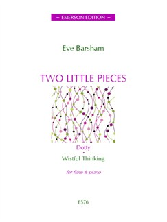 Eve Barsham: Two Little Pieces Books | Flute, Piano Accompaniment