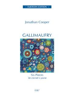 Jonathan Cooper: Gallimaufry Books | Clarinet, Piano Accompaniment
