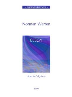 Norman Warren: Elegy Books | French Horn, Piano Accompaniment