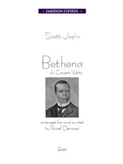 Scott Joplin: Bethena (Wind Quintet) Books | Wind Quintet