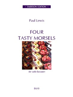 Paul Lewis: Four Tasty Morsels Books | Bassoon