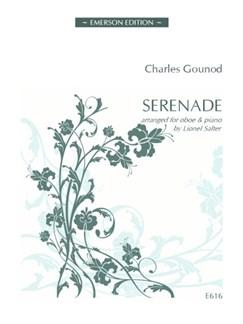 Charles Gounod: Serenade Books | Oboe, Piano Accompaniment