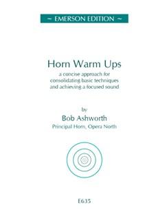 Bob Ashworth: Horn Warm-Ups Books | French Horn