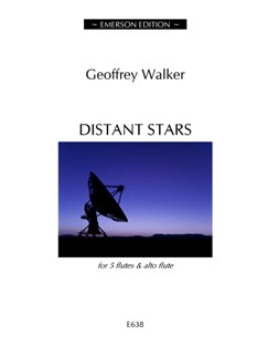 Geoffrey Walker: Distant Stars Books | Flute (Quintet), Alto Flute (Quintet)