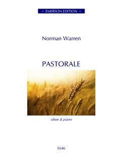 Norman Warren: Pastorale Books | Oboe, Piano Accompaniment