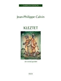 Jean-Philippe Calvin: Kleztet Books | Wind Quintet