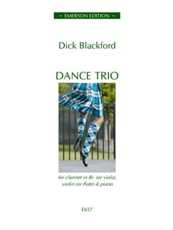 Dick Blackford: Dance Trio Books | Clarinet, Violin, Piano Chamber