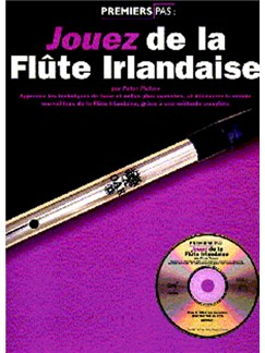 Jouez De La Flute Irlandaise Books | Melody Line, Lyrics & Chords (with Chord Symbols), Pennywhistle