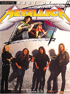 The Best Of Metallica Books | Guitar Tab, with guitar chord boxes