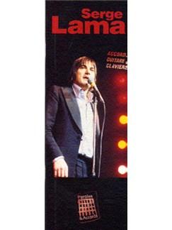 Paroles Et Accords: Serge Lama Books | Lyrics & Chords, with guitar chord boxes