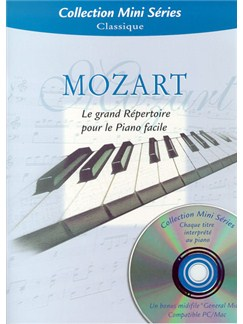 W.A. Mozart: Le Grand Répertoire Pour Le Piano Facile Books and CDs | Piano