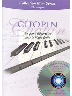 Chopin: Le Grand Répertoire Pour Le Piano Facile Books and CDs | Piano