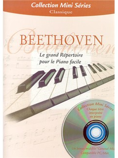 Beethoven: Le Grand Répertoire Pour Le Piano Facile Books and CDs | Piano