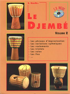 Le Djembe Volume 2 Books and CDs | World Drums