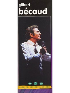 Gilbert Becaud Books | Melody Line, Lyrics and Chords