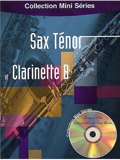 Collection Mini Series: Sax Tenor Et Clarinette Bb Books and CDs | Tenor Saxophone, Clarinet