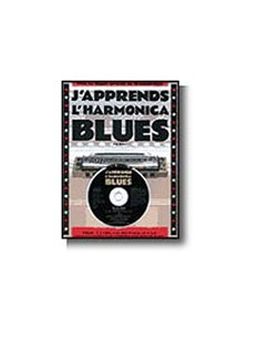J'Apprends L'Harmonica Blues CD et Livre | Harmonica