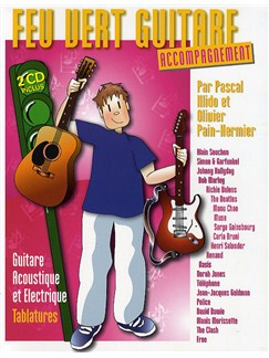 Feu Vert Guitare: Accompagnement Books and CDs | Guitar Tab (with Strumming Patterns)