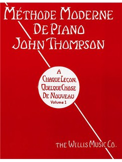 Methode Moderne De Piano John Thompson: Volume 1 Books | Piano