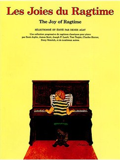 The Joy Of Ragtime Books | Piano & Guitar, with chord symbols