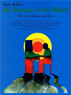 Les Joies Du Boogie Et Du Blues Books | Piano & Guitar, with chord symbols