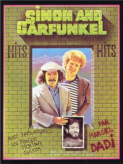 Simon And Garfunkel Hits Books | Piano and Voice, with Guitar chord boxes, Guitar Tab, with guitar chord boxes