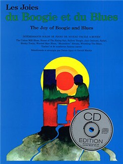 Les Joies Du Boogie Et Du Blues (Avec CD) Books and CDs | Piano