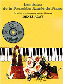 Les Joies De La Première Année De Piano (Avec CD) CD et Livre | Piano