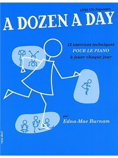 A Dozen A Day: Livre 1 - Preparatoire Books | Piano