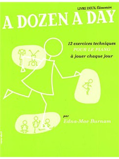 A Dozen A Day: Livre 2 - Elementaire Books | Piano